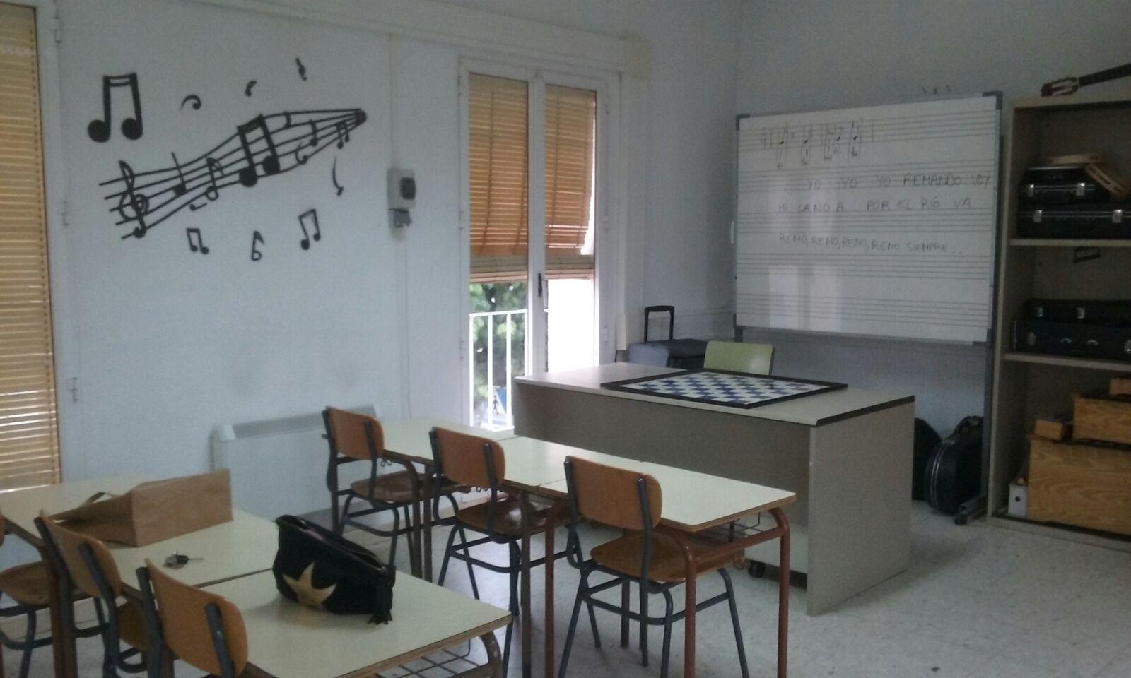 Renovaci n en la decoraci n del aula de la escuela de m sica for Escuela de decoracion